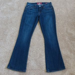 Lucky Brand Boot Cut Short Ankle Length Jeans